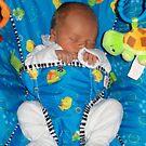 sleepy baby by Jessica Hooper