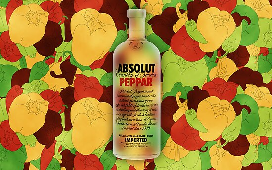 Absolut Peppar by ericvasquez84