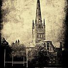 Norwich Cathedral by Paul Wilkin
