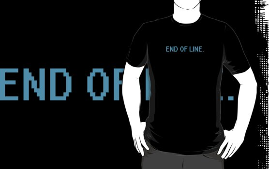 END OF LINE.  by twoboos