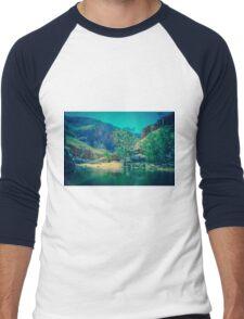 Ormiston Gorge Men's Baseball ¾ T-Shirt