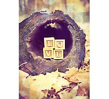Tree Love Photographic Print