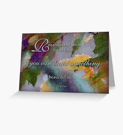regardless - wisdom saying no.11 Greeting Card