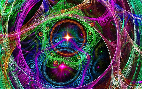 Psychedelic Utopia  by Virginia N. Fred