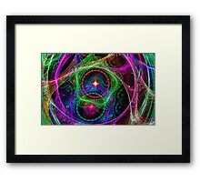 Psychedelic Utopia  Framed Print