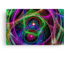 Psychedelic Utopia  Canvas Print