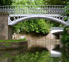 Bridge over the Kennet and Avon canal by Joanne Emery