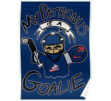 My Patronus is a Goalie (CBJ Edition) Poster