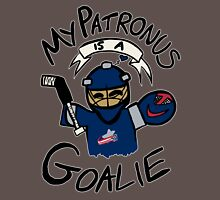 My Patronus is a Goalie (CBJ Edition) Womens Fitted T-Shirt