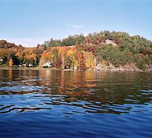 The Cavalcade of Colours in the Muskoka Lakes by Ray Vaughan