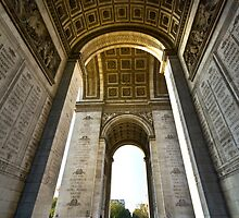 Arc de Triomphe - Please Enlarge by Charuhas  Images