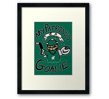 My Patronus is a Goalie (DAL Edition) Framed Print