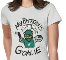 My Patronus is a Goalie (DAL Edition) Womens Fitted T-Shirt