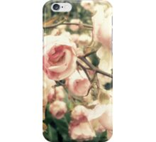 vague memory and roses iPhone Case/Skin