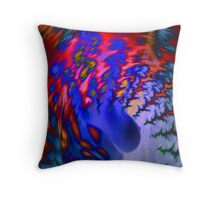 Devilish beautiful Throw Pillow