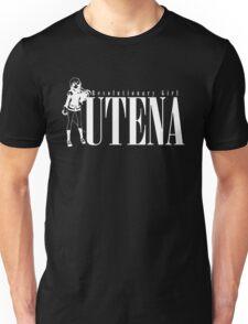 Utena Black on White Unisex T-Shirt