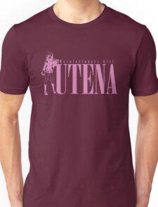 Revolutionary Girl Utena, Pink on Black! Unisex T-Shirt