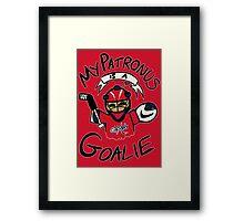 My Patronus is a Goalie (WSH Edition) Framed Print