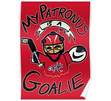 My Patronus is a Goalie (WSH Edition) Poster