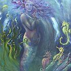 Pearl - water goddess by Cheryl White