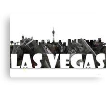 Las Vegas Skyline BG2 Canvas Print