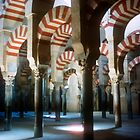 Mezquita, Cordoba in Spain by Christina Backus