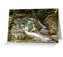 Little Falls HDR Greeting Card