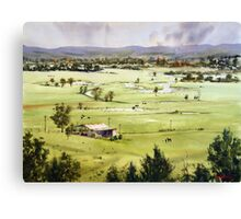 From Streeton Lookout, Freemans Reach Canvas Print