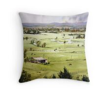 From Streeton Lookout, Freemans Reach Throw Pillow