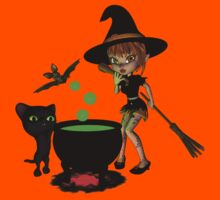Cauldron Witch Shirts & Stickers Kids Clothes