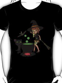 Cauldron Witch Shirts & Stickers T-Shirt