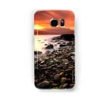 Sun kissed rocks Samsung Galaxy Case/Skin