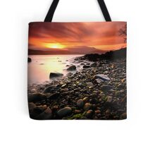 Sun kissed rocks Tote Bag
