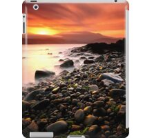Sun kissed rocks iPad Case/Skin