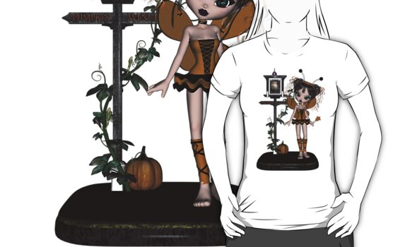 Nymph Dream Pumpkin Shirts & Stickers by Rivendell