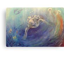 Underwater Games Canvas Print
