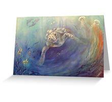 Underwater Games Greeting Card