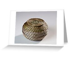 Basket and lid Greeting Card