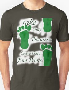 Foot Steps T-Shirt