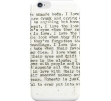 Shane Koyczan- Honesty iPhone Case/Skin