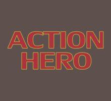 Action Hero -T-Shirt Sticker One Piece - Short Sleeve