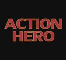 Action Hero -T-Shirt Sticker Kids Tee
