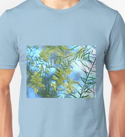 Spring Wattle,Quensland Australia Unisex T-Shirt