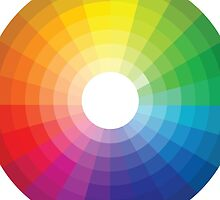 Color Wheel 1 - Colour Wheel 1 by Dacdacgirl