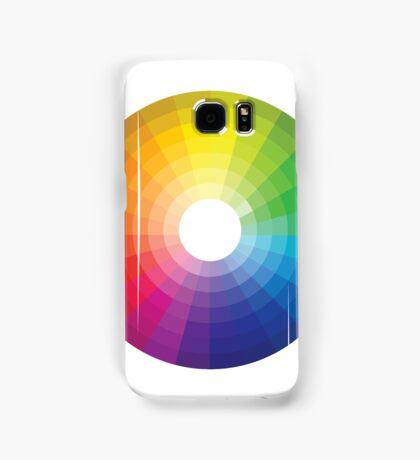 Color Wheel 1 - Colour Wheel 1 Samsung Galaxy Case/Skin