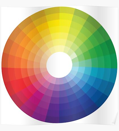 Color Wheel 1 - Colour Wheel 1 Poster