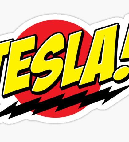 Tesla! Sticker Sticker