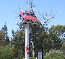 Beaut Ute Up The Shute by David Smith