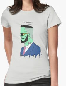 Frankenstyle Womens Fitted T-Shirt