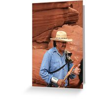 Chief Slow Horse Greeting Card